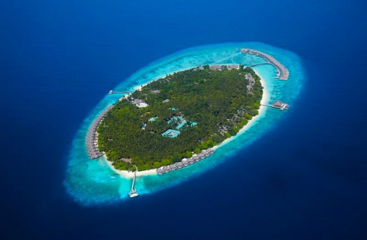 Dusit-Thani-Maldives_Aerial view