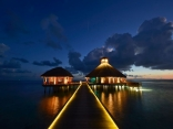 Huvafen-Fushi-Maldives_Arrival at night